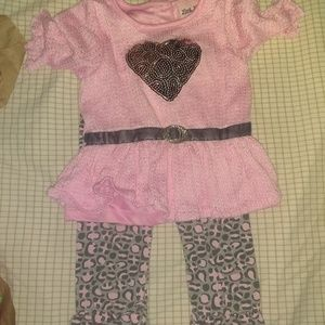 18 month cheetah outfit